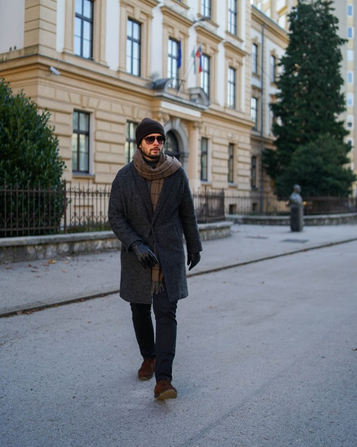 Winter layering, Rale Popic, wool coat, turtleneck, the gent style blogger