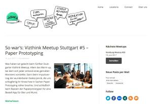 Vizthink Meetups