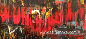 Abstract contemporary painting - © 2017 Ralf Jahnke-Wachholz