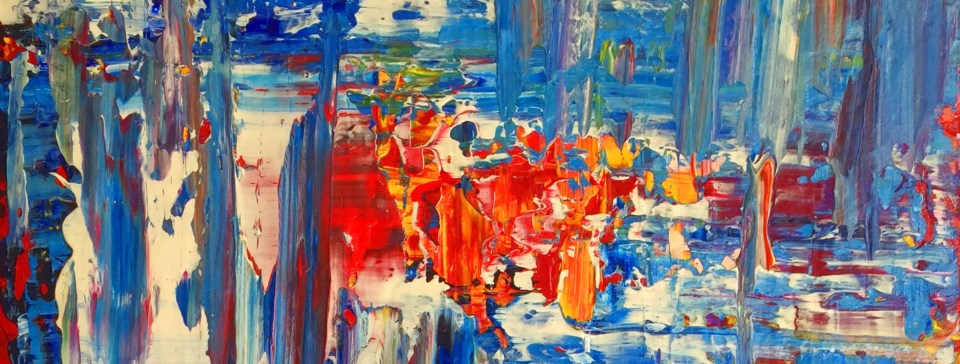 abstract expressionism - contemporary painting - © 2019 Ralf Jahnke-Wachholz