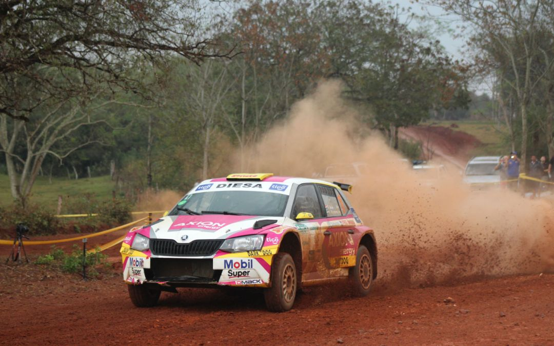 Gustavo Saba suma y sigue al quedarse con el Rally de Acosta Ñu 2017