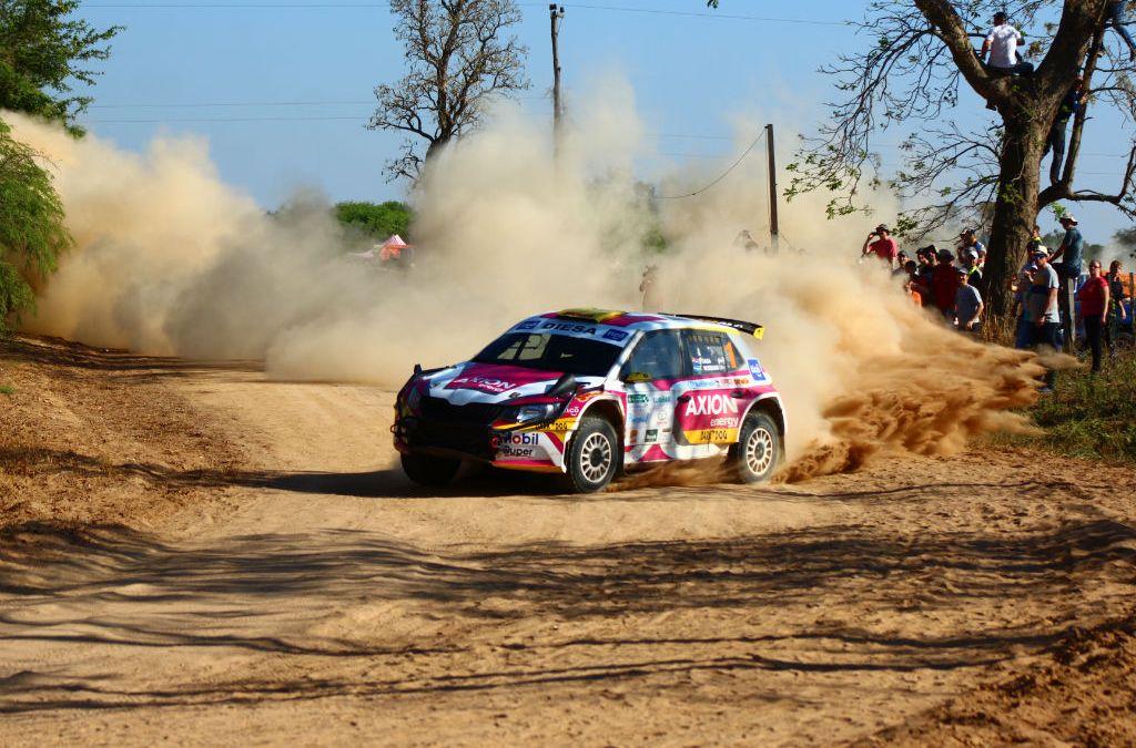 Gustavo Saba completa la primera etapa al frente de la clasificación general en el XLIV Transchaco Rally.