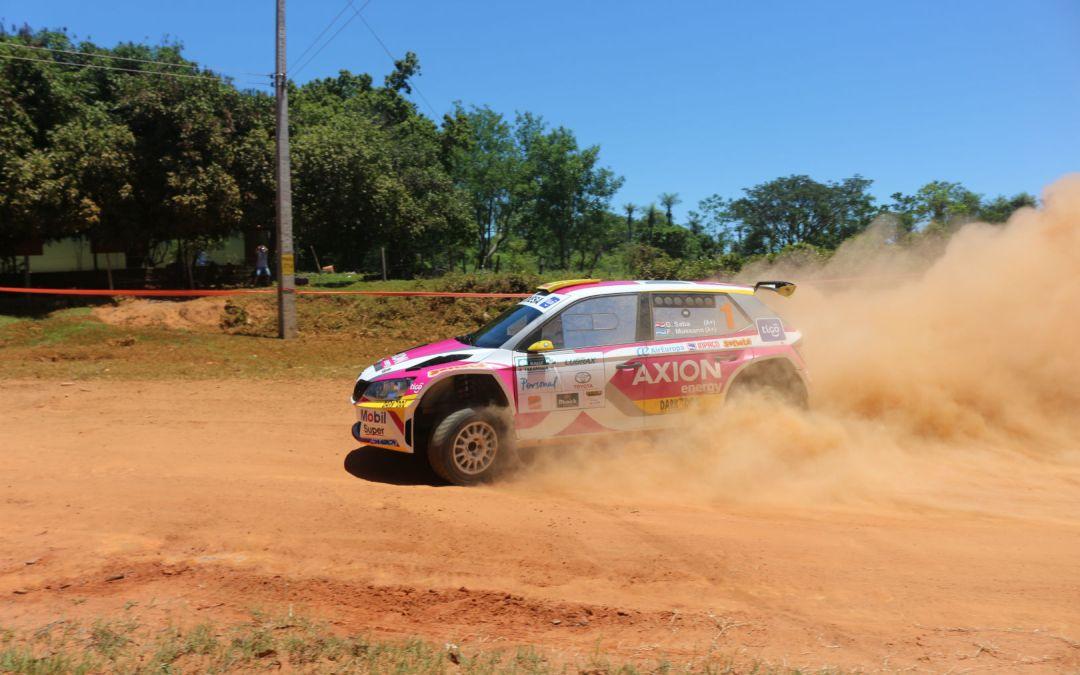 El Petrobras Rally de Carapegua queda en manos de Gustavo Saba y Fernando Mussano
