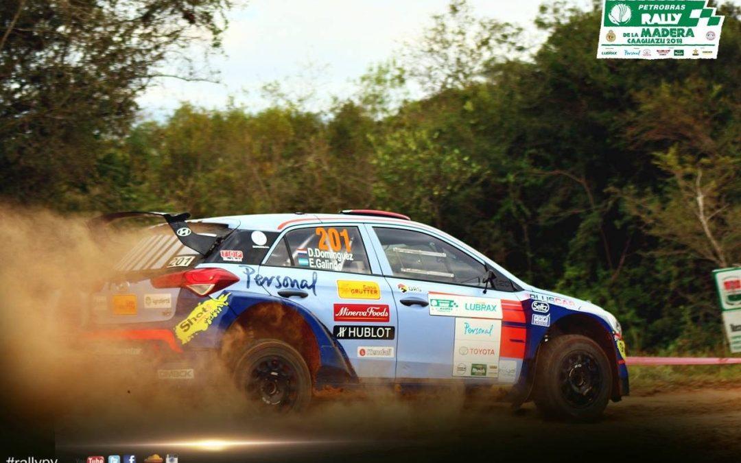 Petrobras Rally de la Madera: Domínguez, el mejor en las pruebas oficiales