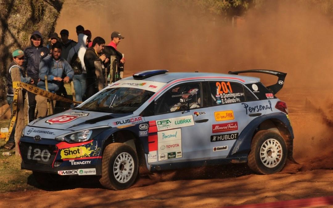 Petrobras Rally de Cordillera 2018: Diego Domínguez se queda con la primera mitad de competencia