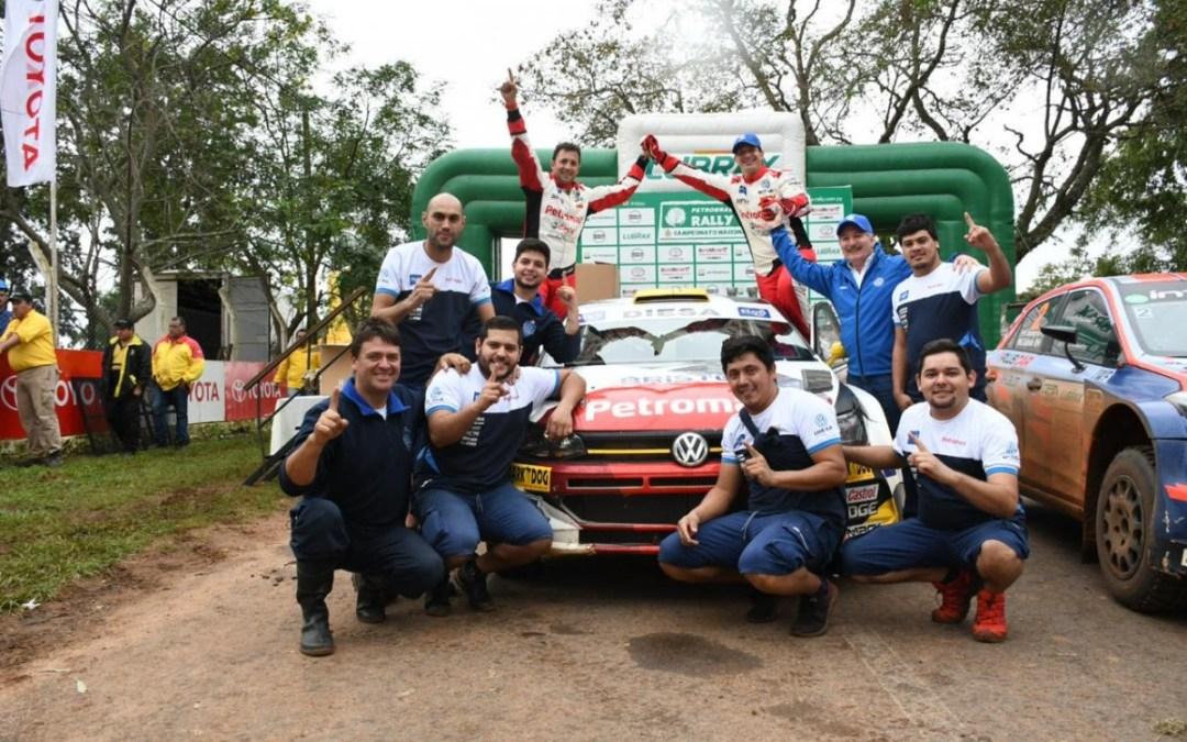 Petrobras Rally del Guairá 2019: Gustavo Saba se anota la primera victoria en el año tanto para sí mismo como para Volkswagen