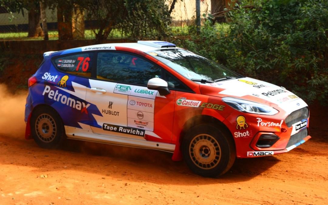 Rally de la República 2019: Saba y Zaldívar, los más rápidos; Alonso abre los caminos