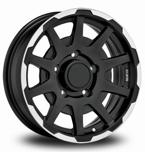 Sparco Dakar Black Polished