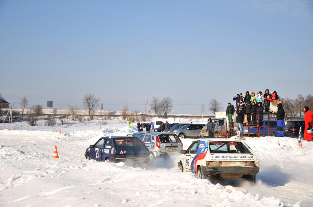 Финал кубка по ледовым гонкам Юрал Трофи 2013