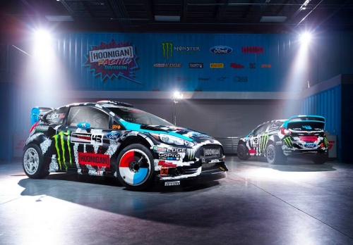 The all-new Ken Block's 2014 Hoonigan Racing livery!