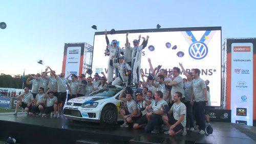 WRC Rally Australia 2014 Day3 Highlight