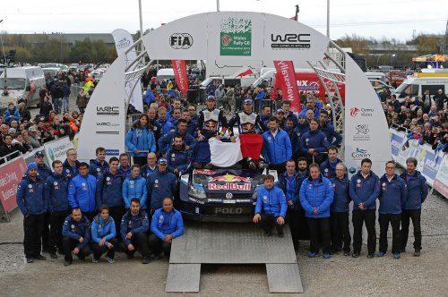 WRC Wales RallyGB 2015 Final