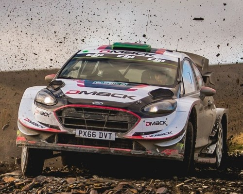 Evans Win Wales Rally GB 2017