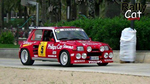 WRC Rally Espana 2017.  Best of  Historic Rally Car