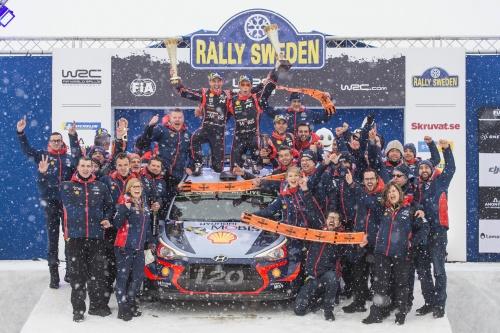 WRC RALLY SWEDEN 2018 FINAL