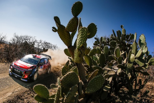WRC RALLY MEXICO 2018 DAY2