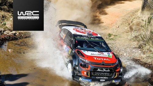 WRC RALLY MEXICO 2018 SHAKE DOWN