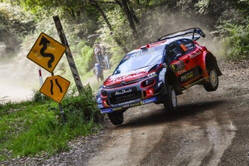 WRC RALLY AUSTRALIA 2018 DAY1