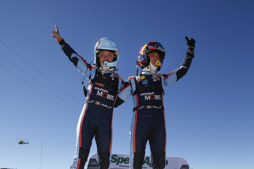 Rally Chile – Media Statement about Thierry Neuville / Nicolas Gilsoul