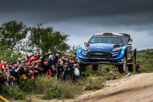 WRC RALLY CHILE 2019 SCHEDULE