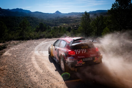 Citroën decided to withdraw from its WRC