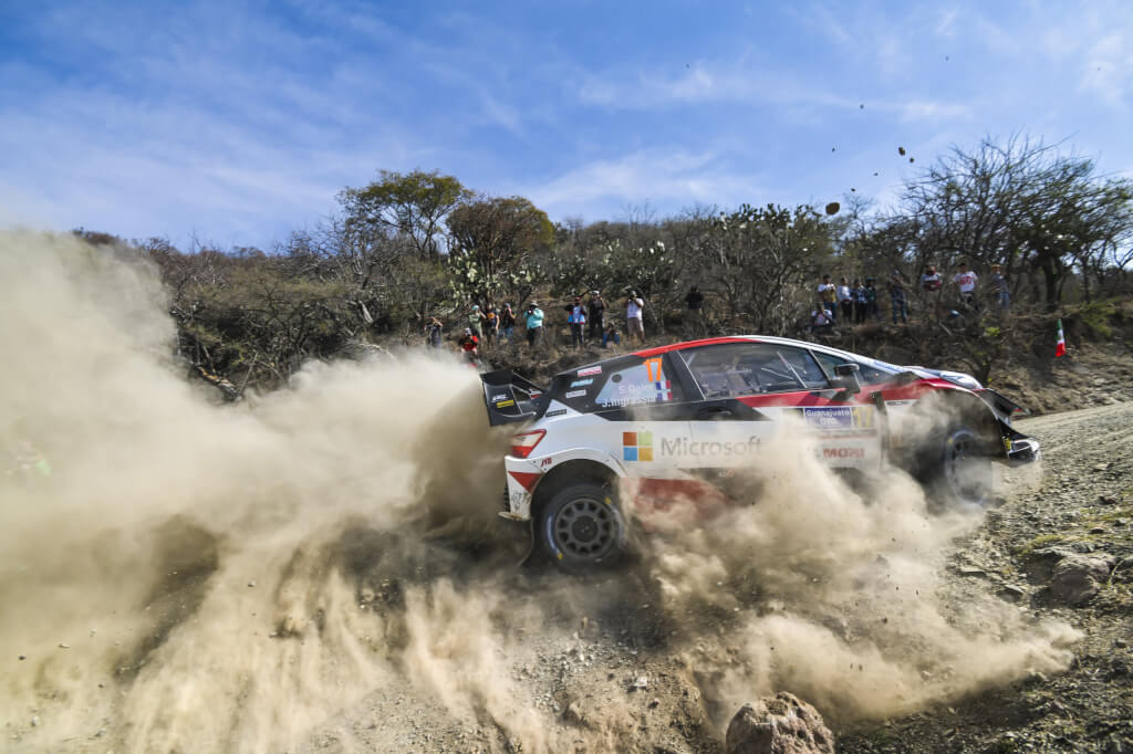 WRC RALLY MEXICO 2020 DAY1