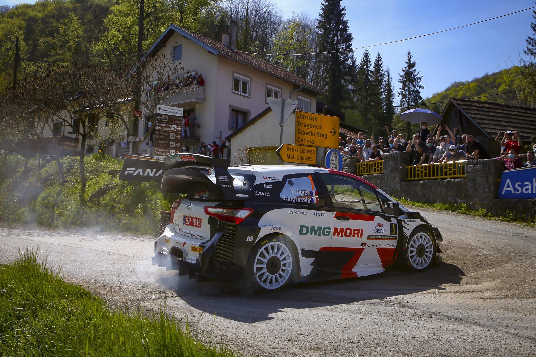 WRC Croatia Rally 2021 Day 2