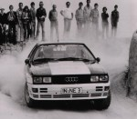 1980 Audi quattro Rally Car