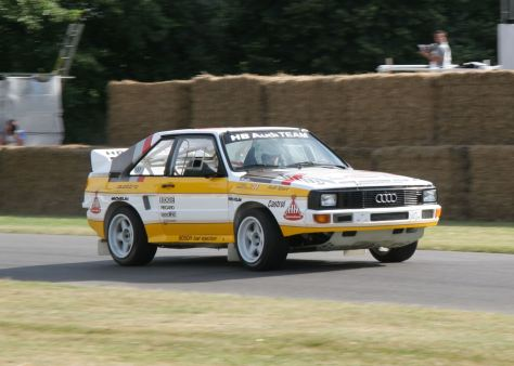 Audi Sport Quattro S1 E2 Group B Rally Group B Shrine