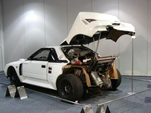 toyota mr2 (222d) – group s prototype | rally group b shrine