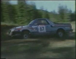 Subaru MP-1 at the 1985 New Zealand Rally