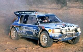 Juha Kankkunen - Paris~Dakar 1988