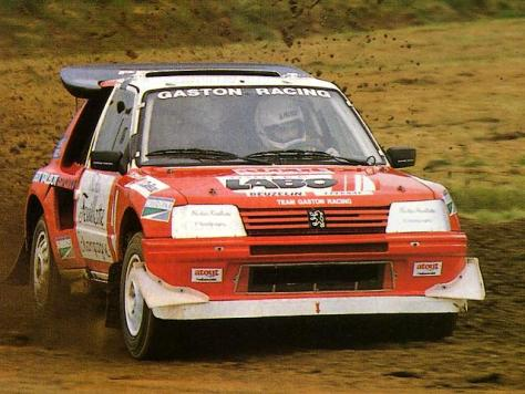 Gaston Racing 205 T16 E2