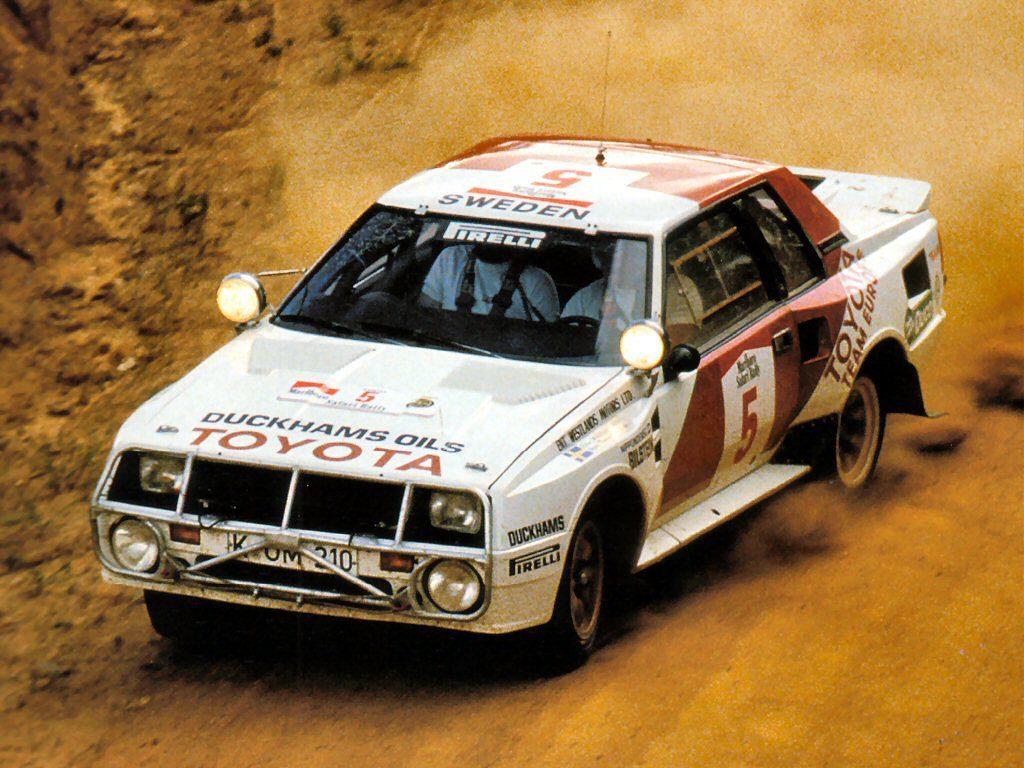 Toyota Celica TwinCam Turbo (Group B) | Rally Group B Shrine