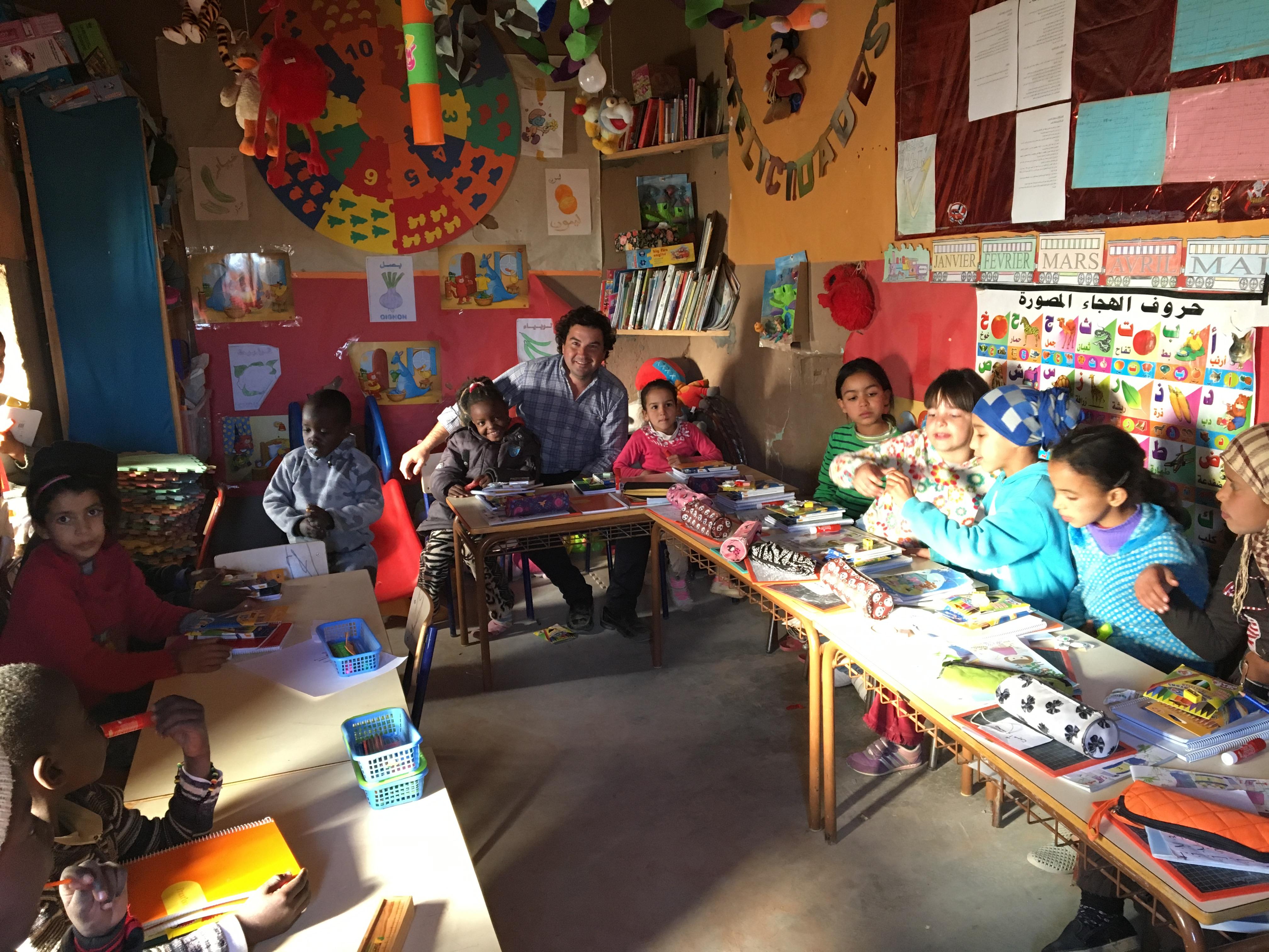 Asociación Rally Solidario. Escuela de Taouz (Marruecos)