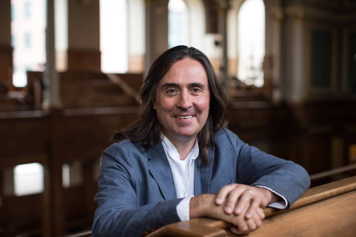 Neil Oliver, Archaeologist, T.V Presenter. London.