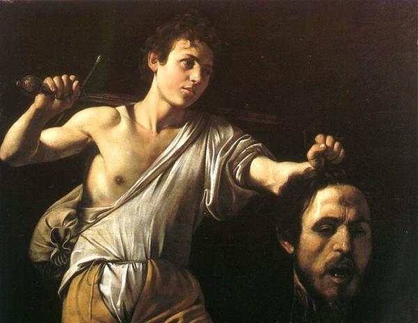 David with Goliath's head