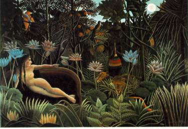 "Rousseau's ""The Dream"""