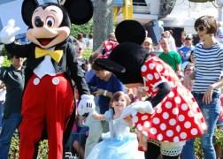 Disney World with celebrity's kid