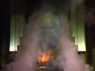 Wizard of Oz false image
