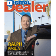 Ralph Paglia on cover of April 2007 Digital Dealer Magazine
