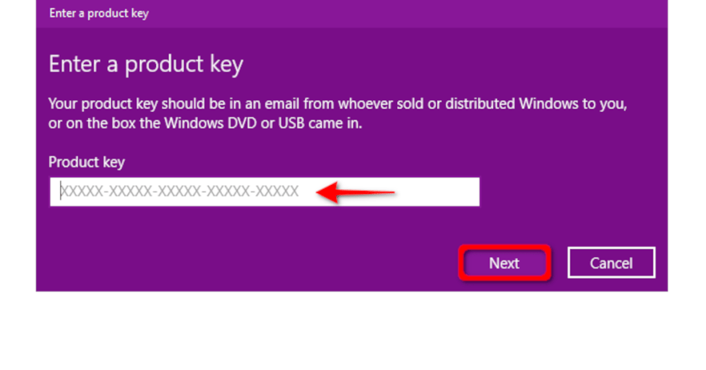 Windows 10 Key Re-activation