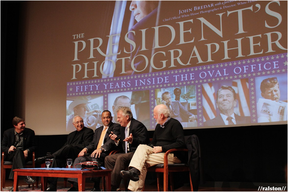 Q&A by former president's photographers