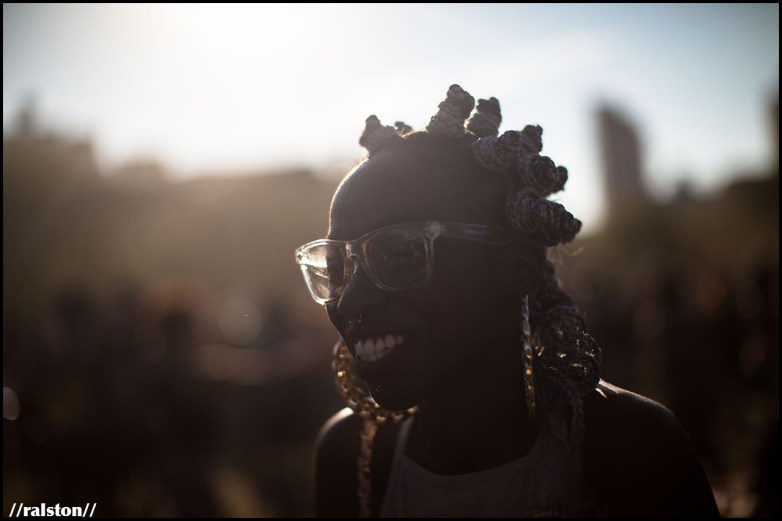 {'staring at the sun' series // afropunk 2016} @ralstonsmith