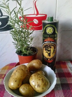 ingrediente Cartofi noi la cuptor