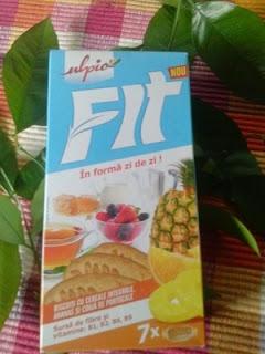 biscuiti cu cereale integrale si fructe Fit for energy cu Ulpio!