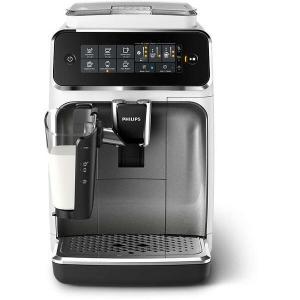 Espressor automat Philips EP3243/70, sistem de lapte LatteGo, 5 bauturi, filtru AquaClean, rasnita ceramica, optiune cafea macinata, ecran tactil, Alb-Argintiu