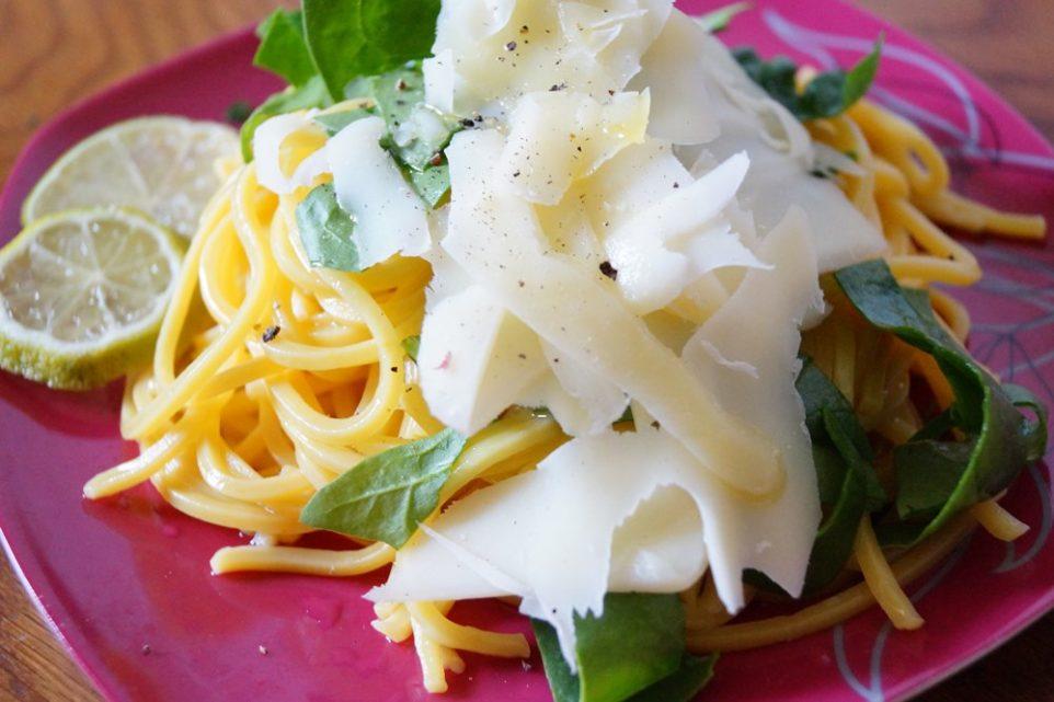 Spaghetti ai limoni