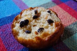 interior Muffins cu unt de arahide si chipsuri de ciocolata