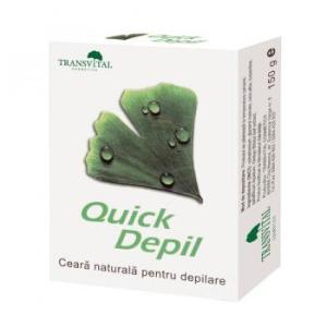 Ceara naturala depilatoare-quick depil 150gr TRANSVITAL